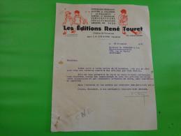 Facture Les Editions- Rene Touret Le Chatre Indre(contes De Perrault Albums A Colorier Alphabets Albums D´animaux Nsport - France