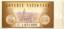BILLET DE LOTERIE NATIONALE  1938 DOUZIEME TRANCHE - Billets De Loterie