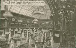 """75/PARIS- Le Salon Automobile 1903 Au Grand Palais (Champs-Elysées) éclairé Par Plus De 3000 Becs """"Gobo"""" (Darracq,...) - Turismo"""