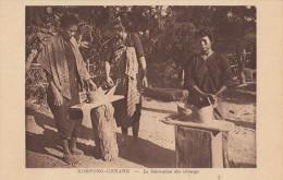 Kompong Chnang - La Fabrication Des Chnangs Par Nadal Cambdoge Indochine Cambodia - Cambodja