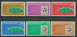 Haiti 1973 Football Soccer World Cup Set Of 6 MNH - Coppa Del Mondo