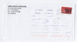 LETTRE ART 2014-E415 - France