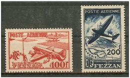 Fezzan1948, Série Aérien Cote 20 Euro - Neufs