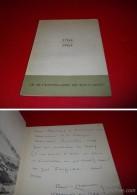 1764 - 1964   BICENTENAIRE  DE BACCARAT   Envoi De René De Chambrun - Art