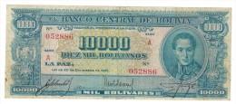 Bolivia 10000 Boliv. 1945, VF. - Bolivia