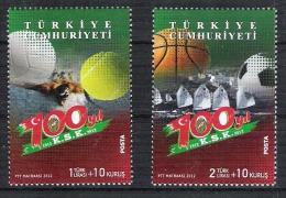 Tim 005 Turquie Turkey Foot Tennis Basket Voile Natation Serie Swimming Sailing - Sin Clasificación