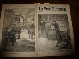 1898 LE PETIT PARISIEN : Le Sextuple Assassinat De Nassandres En Description Par Texte Et Dessins Scèniques - Zeitungen