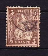 Switzerland Suisse - 1881 - YT 50 Helvetia Assise - 1862-1881 Helvetia Assise (dentelés)
