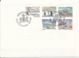 Denmark FDC 18-6-1981 Complete Set Landscapes Sealand - FDC