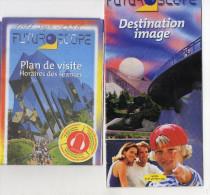 PLANS PROGRAMMES  FUTUROSCOPE  Poitiers  *1998 *1999 *2013 - Europa