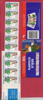 SOUTH AFRICA, 1995, MNH, Booklet 8, Rugby, Sa900, F 3784 - Booklets