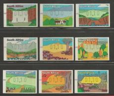SOUTH AFRICA, 1998, MNH Stamp(s), Frama , SA1139-1147, F 6743 - South Africa (1961-...)