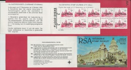 SOUTH AFRICA, 1987, MNH, Booklet 1, Flood Disaster Natal , Sa635, F 3778 - Boekjes