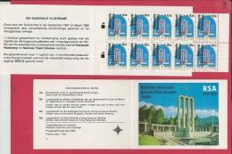 SOUTH AFRICA, 1988, MNH, Booklet 3, Flood Disaster Natal , Sa649, F 3780 - Boekjes