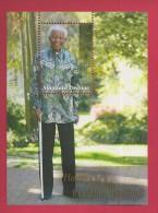 SOUTH AFRICA, 2008, MNH,   Block Mandela 90 Years, 1879 , F3767 - Boekjes