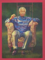 SOUTH AFRICA, 2008, MNH,   Block Mandela 90 Years, 1880 , F3767 - Boekjes