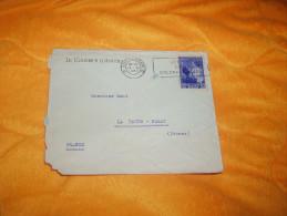 ENVELOPPE UNIQUEMENT DE 1937. / LE COURRIER D'ANVERS A LA ROCHE POSAY FRANCE. / CACHETS + TIMBRE. - Unclassified