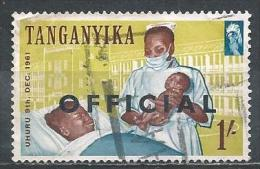 Tanganyika. Scott # O 27 Used. Official Stamp Overprinted. 1961 - Kenya, Uganda & Tanganyika