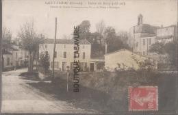 33--SAINT-FERME--Entrée Du Bourg Coté Sud--Chemin De Grande Communication N°14 De Pessac à Monsegur - Autres Communes