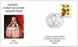 6.- 008 AUSTRIA 2009.  PAINTER  DIEGO VELAZQUEZ. PAINTING  LAS MENINAS. - Arte