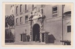 MONACO - N° 222 - ENTREE DU PALAIS DU PRINCE - Fürstenpalast