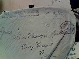 PIEGO  FRANCHIGIA  DISTRETTO MILITARE  RAVENNA  UFF ASS FAMIGLIE PRIGIONIERI 1957  EK6896 - Bagne & Bagnards