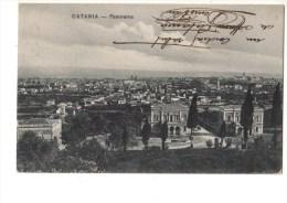 ITALIE   SICILIA---CATANIA---panorama----voir 2 Scans - Catania