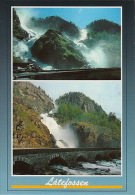 Pk Norge:210:Latefoss, Hardanger - Norway