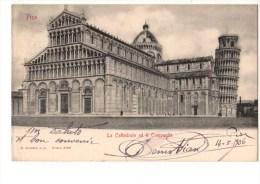 C P A----ITALIE--TOSCANA----- PISA-----la Cattedrale Ed Il Campanile---voir 2 Scans - Pisa