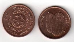 Pièce 2 Seniti : Tonga. 1975 - Monnaies
