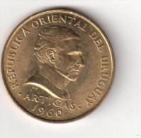 Pièce 10 Centesimos : Uruguay. 1960 - Uruguay