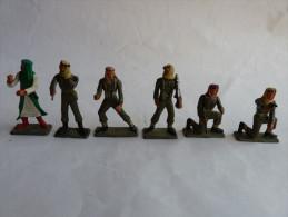 6 RARE soldats Arabes STARLUX 2 TBE 4 avec casse