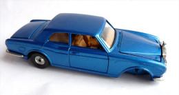 VOITURE - AUTOMOBILE -  CORGI - ROLLS ROYCE CORNICHE bleu m�talis� - 1/43 �me