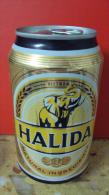Vietnam Viet Nam Halida Empty 330ml Beer Can - New Design In 2014 - Cannettes