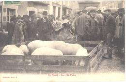 53 - Mayenne, La Pooté, Jour De Foire - Carte RARE - France