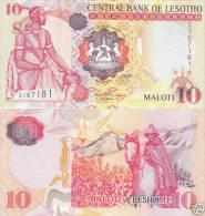 Lesotho 10 Maloti  2006  Pick 15d UNC - Lesotho