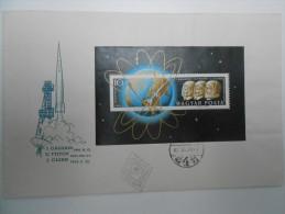 HUNGARY FDC - SALE !!! 1962. Space - Glenn Sheet On FDC (Michel: 22 EUR !!!) - FDC