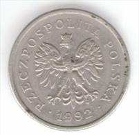 POLONIA 1 ZLOTY 1992 - Grecia