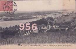 CPA * * LA CHARITE * * Vue De L'Asile Et La Vallée De La Loire - La Charité Sur Loire