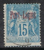 PORT LAGOS N°3a - Used Stamps