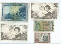 Billet Espagne - [ 3] 1936-1975 : Regency Of Franco