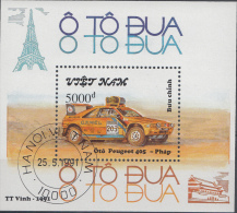 VIETNAM MI.NR.BLOCK 89 TOURWAGENS  USED / GEBRUIKT / OBLITERE 1991 - Viêt-Nam