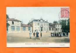 EAUBONNE    1905     LA MAIRIE ET LES ECOLES    CIRC  OUI EDIT - Eaubonne