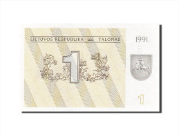 [#255654] Lituanie, 1 Talonas, Type Lézards - Lituanie