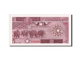 Somalie, 5 Shillings Type Law Of 30.12.1982-83, Pick 31a - Somalia