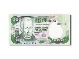 [#255767] Colombie, 200 Pesos Oro, Type Mutis - Colombie