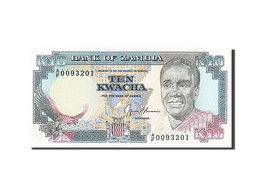 [#255771] Zambie, 10 Kwacha, Type Président K. Kaunda - Zambie