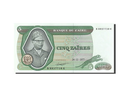 [#255776] Zaïre, 5 Zaïres, Type Mobutu - Zaire