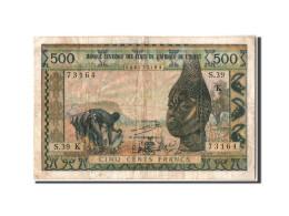 Sénégal, 500 Francs Type 1959-65 - Sénégal