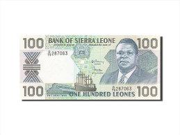 [#255723] Sierra Leone, 100 Leones, Type Président Saidu Momoh - Sierra Leone